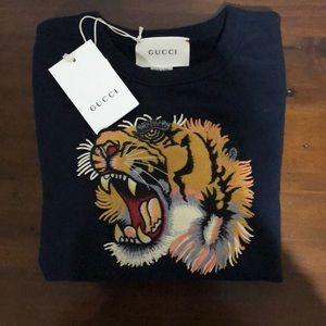cb31db47 Gucci Shirts & Tops | Childrens Sweatshirt With Tiger | Poshmark